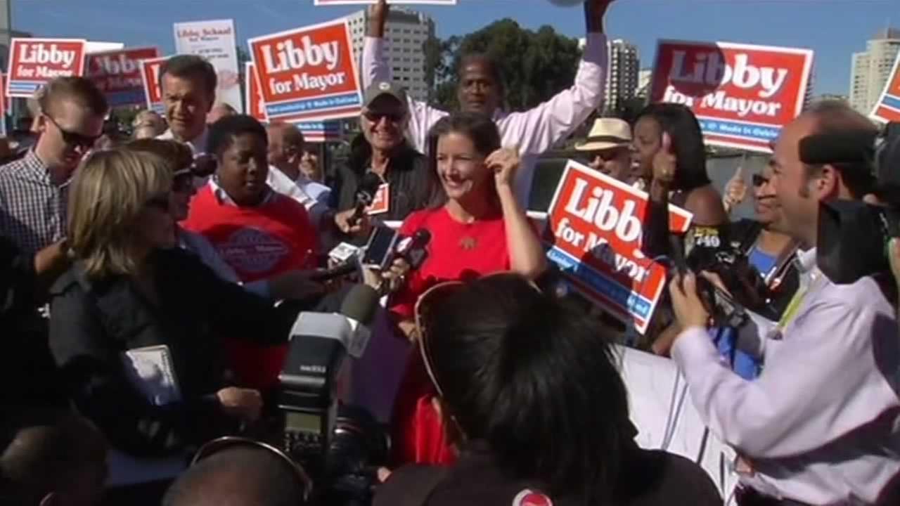 Oakland Mayor-elect Libby Schaaf