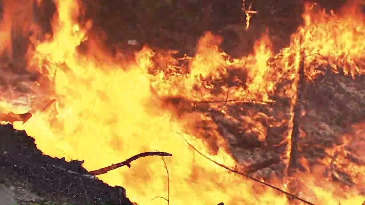 Twin fires are second-largest in recorded California history