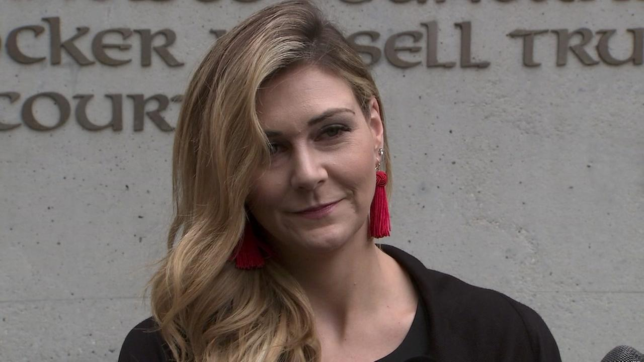 VIDEO: Daughter remembers 49ers' Dwight Clark at memorial