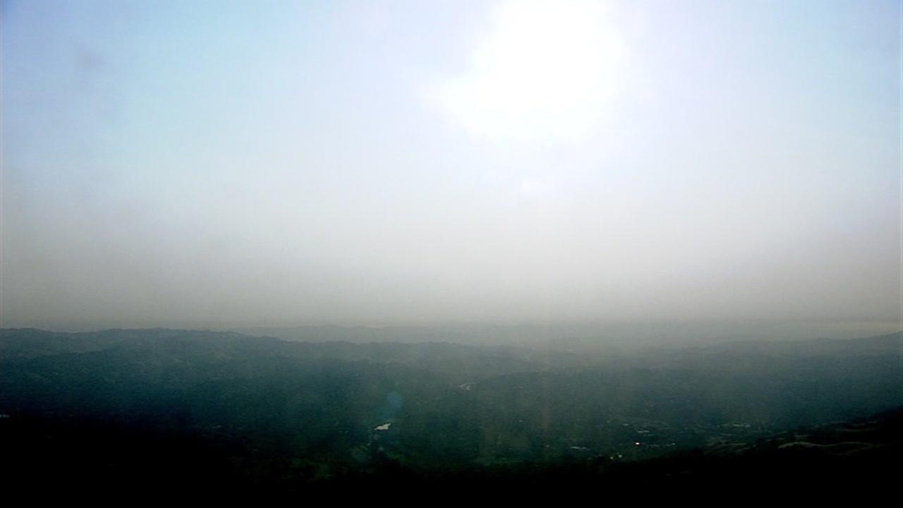Smoky Bay Area skies Friday