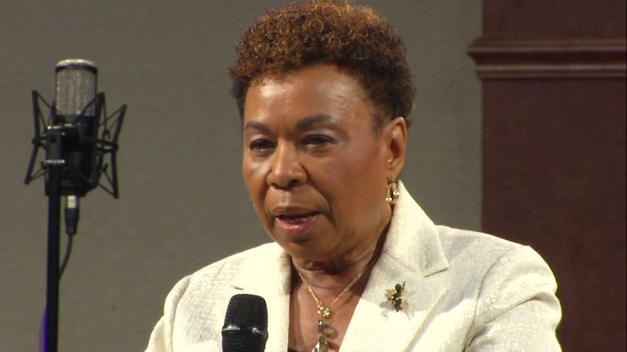 Congresswoman Barbara Lee: 'We stand with you today demanding justice'