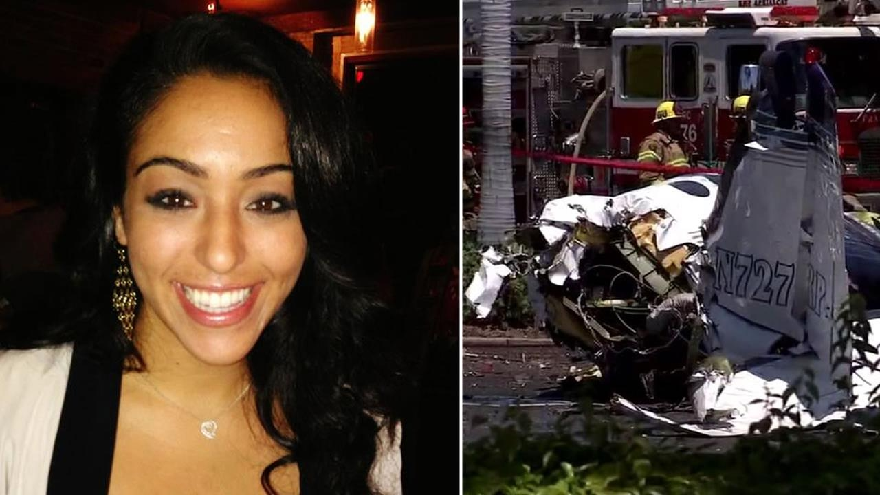 Nasim Ghanadan was identified as one of the victims of a small plane crash in Santa Ana, Calif. that killed five people on board Sunday, August 5, 2018.