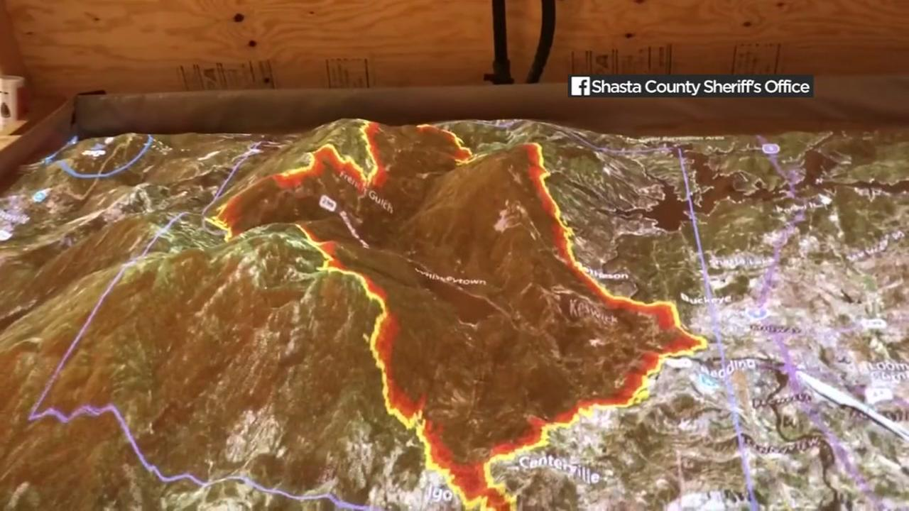 VIDEO: Simulation shows how quickly Carr Fire exploded