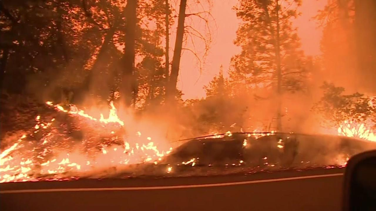 The Mendocino Complex Fires spreading in Northern California have become the states largest ever recorded.
