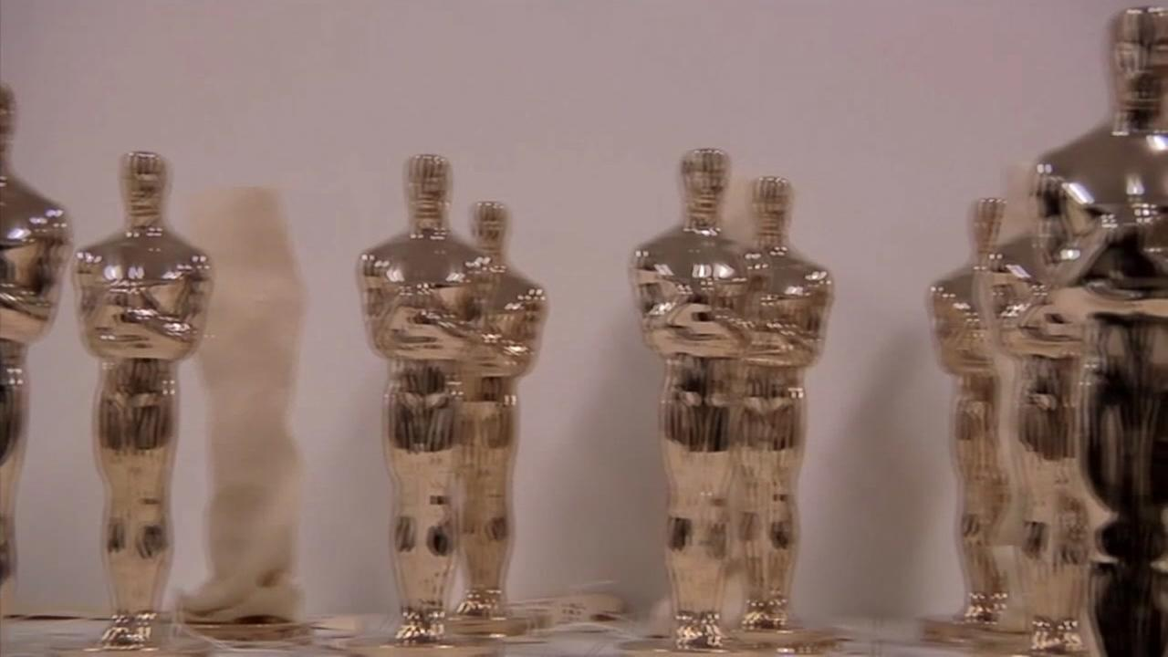 Oscars statue are seen in this undated image.
