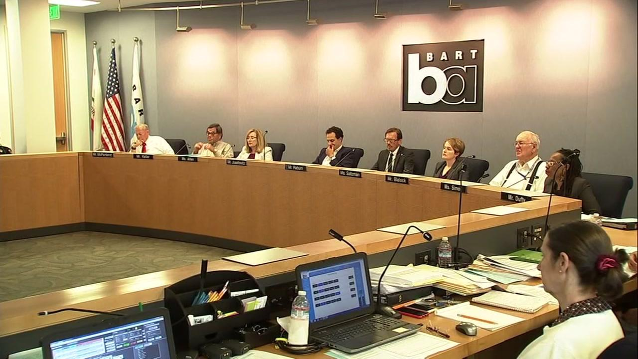 BART Board of Directors meeting on Thursday, August 9, 2018.