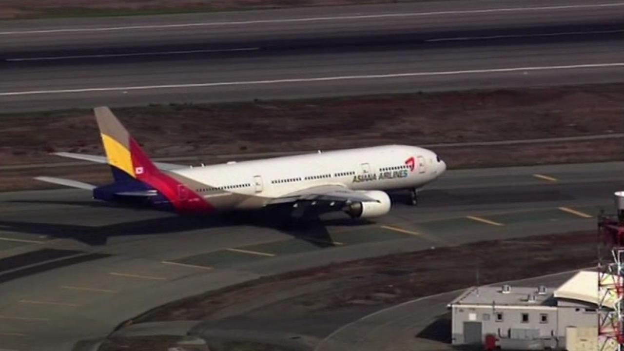 Asiana flights suspended at SFO as punishment for crash