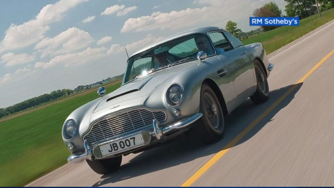 FILE -- Aston Martin DB5 as seen in James Bond movies.