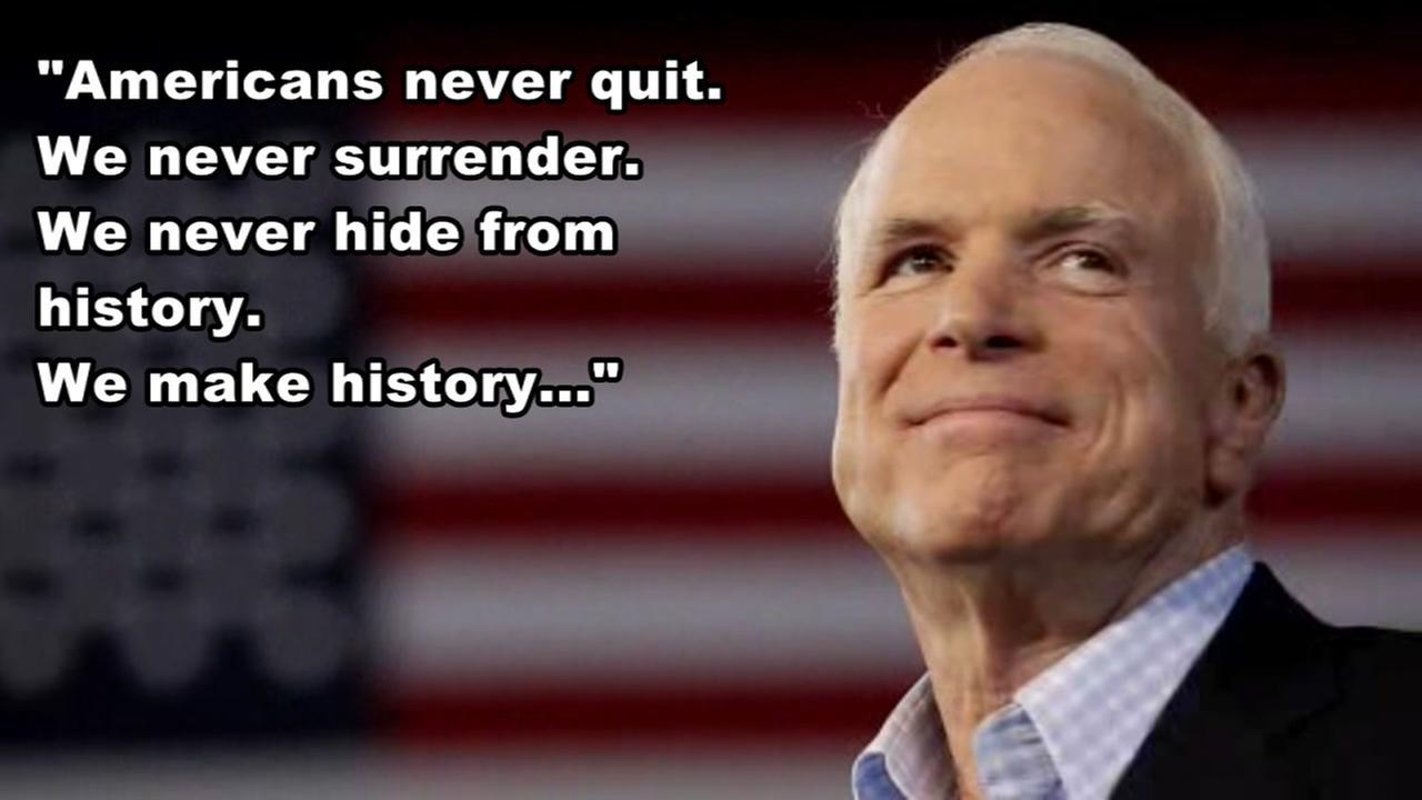 John McCain farewell letter