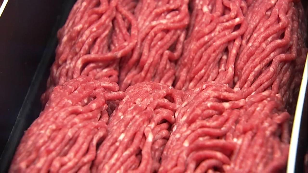 Ground beef is seen in this undated image.