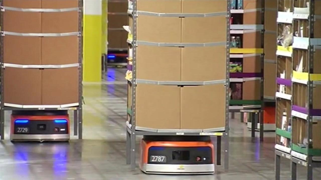 Kiva robots