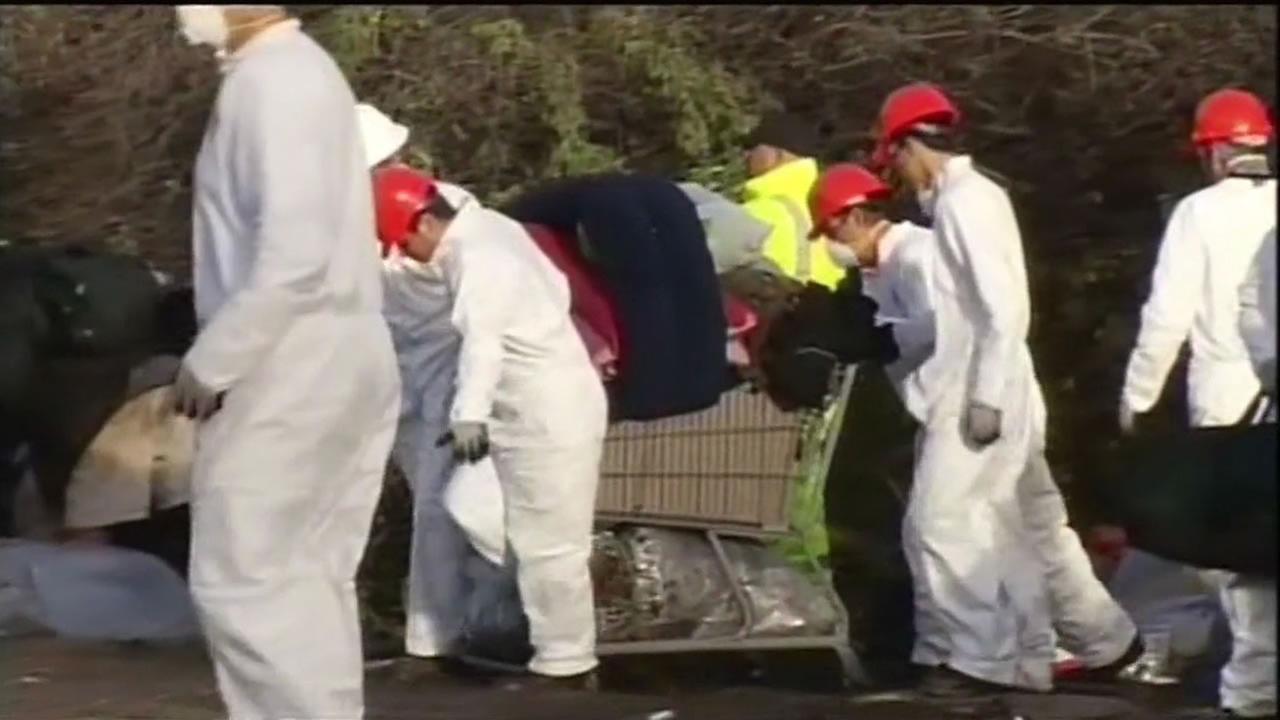 Crews clean up The Jungle in San Jose