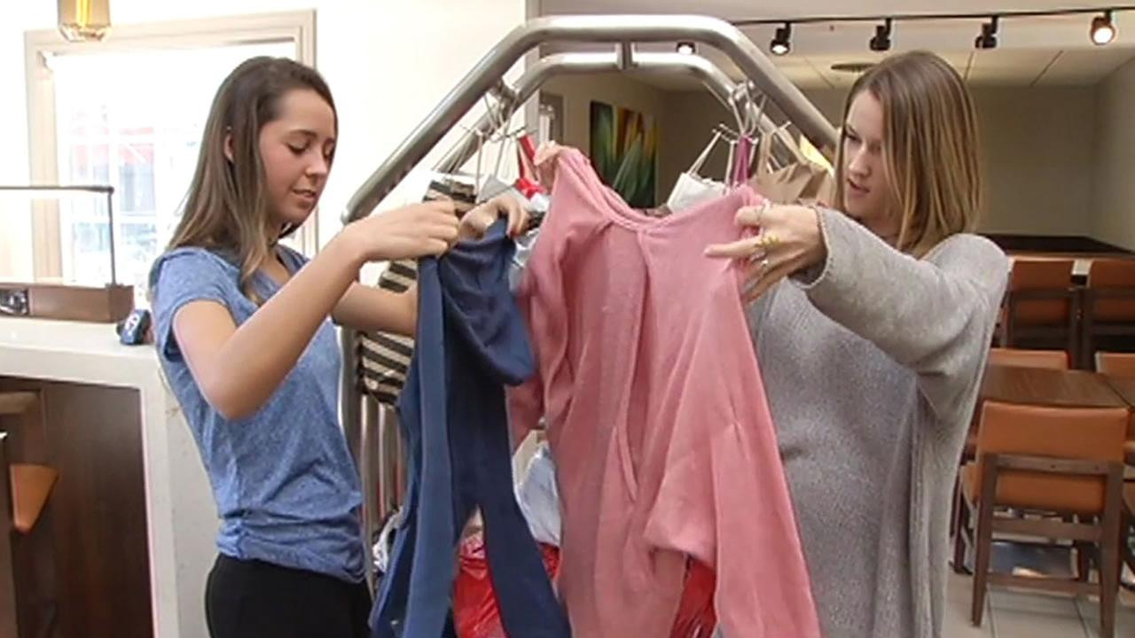 Non-profit charity 1 Closet run by teenagers donates gently used clothes to teens in need of clothing