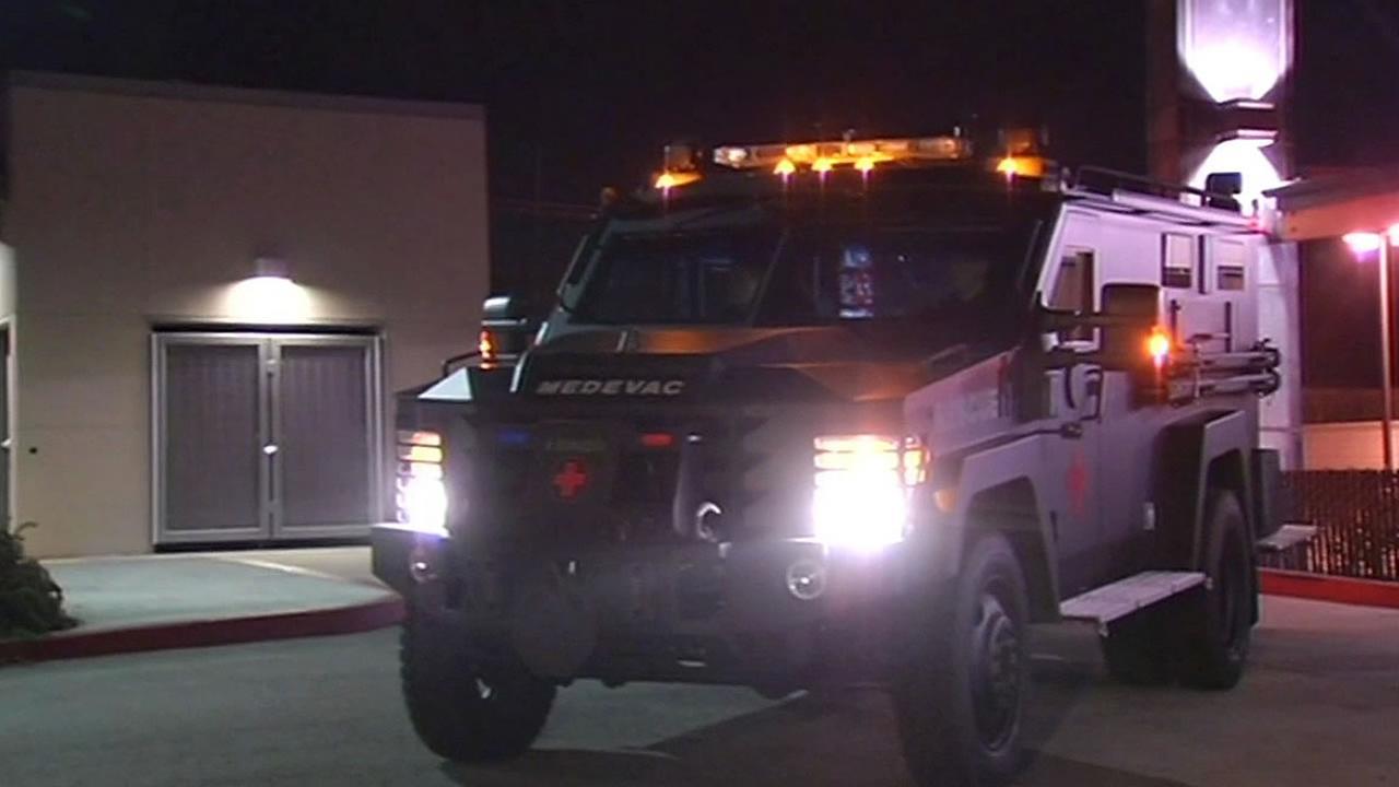 armed medevac vehicle