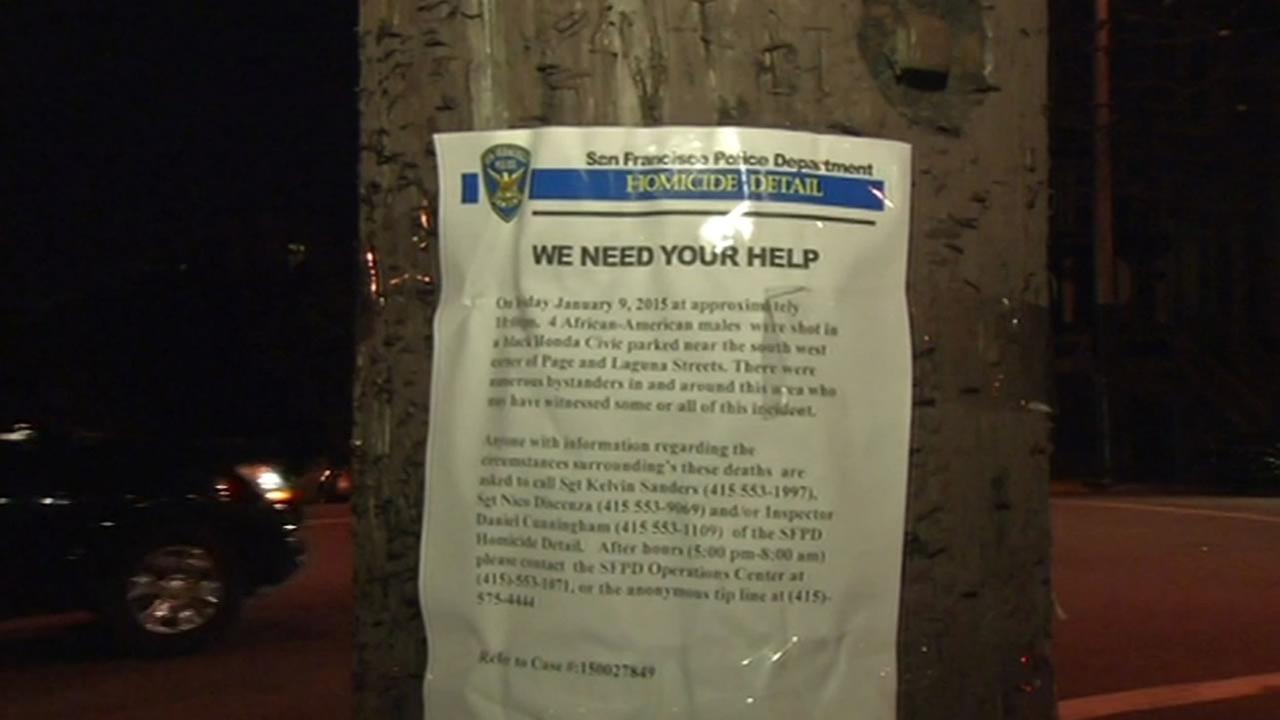 Police are asking for the public to help solve a shooting that killed four people in San Francisco Friday night.