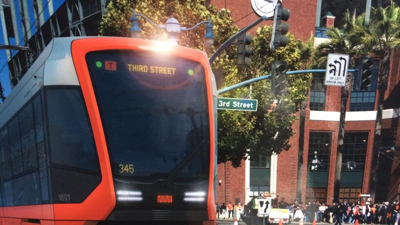 San Francisco Mayor Ed Lee announced he will add 215 new light rail vehicles to the Municipal Railway fleet.