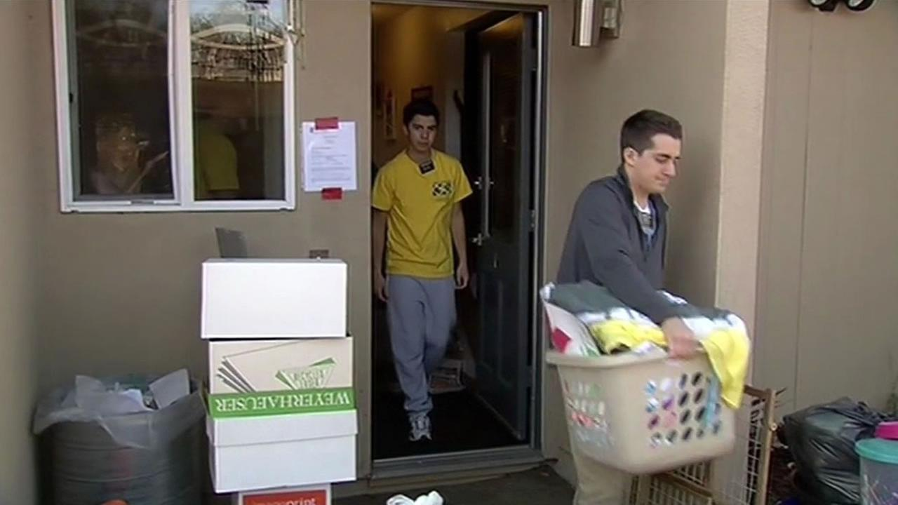 Dozens of families in Santa Rosa are now looking for new places to live.