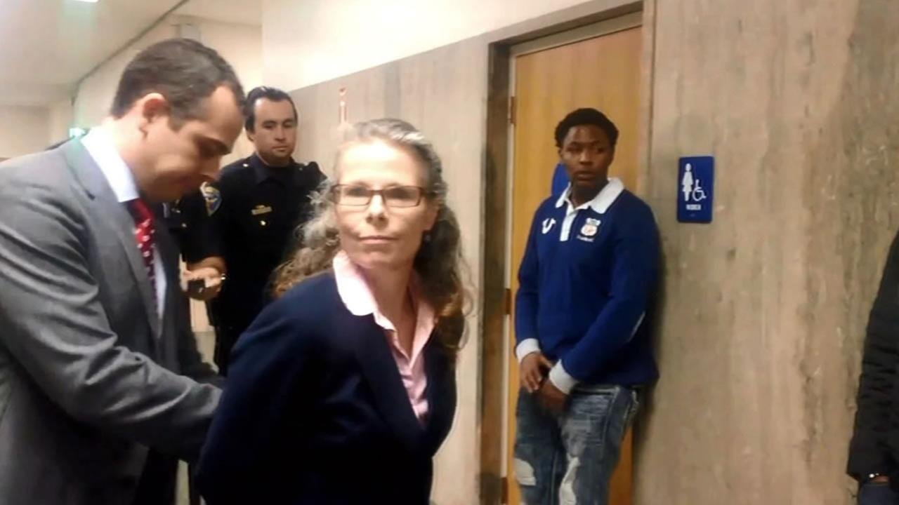 San Francisco public defender, Jami Tillotson, was arrested for trying to counsel a defendant as they left the courtroom.