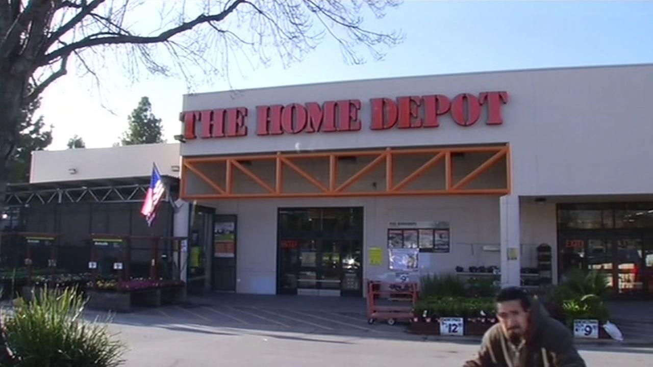 Home Depot store.