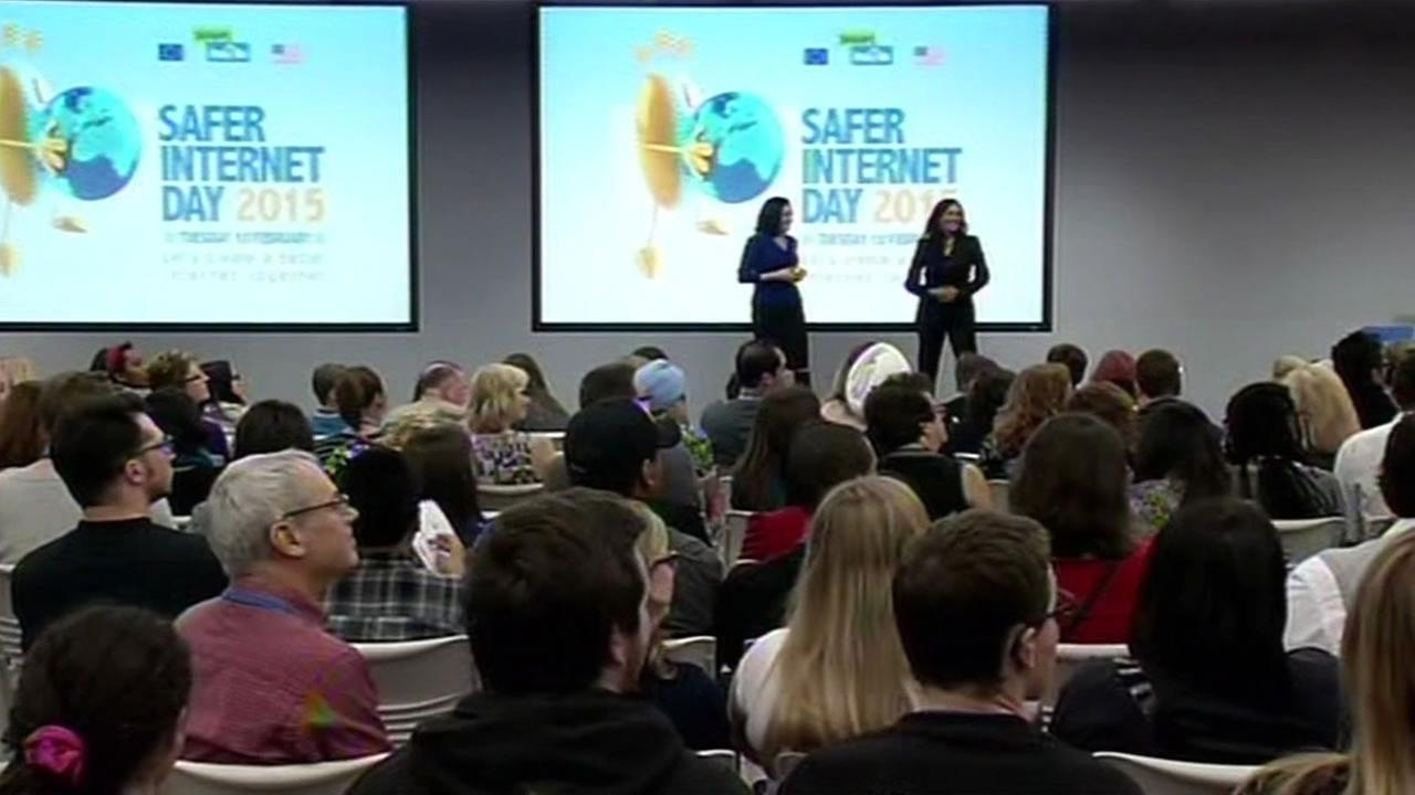 Social media giant Facebook hosted a special event Tuesday on Internet safety with some important lessons from two very high-profile women.