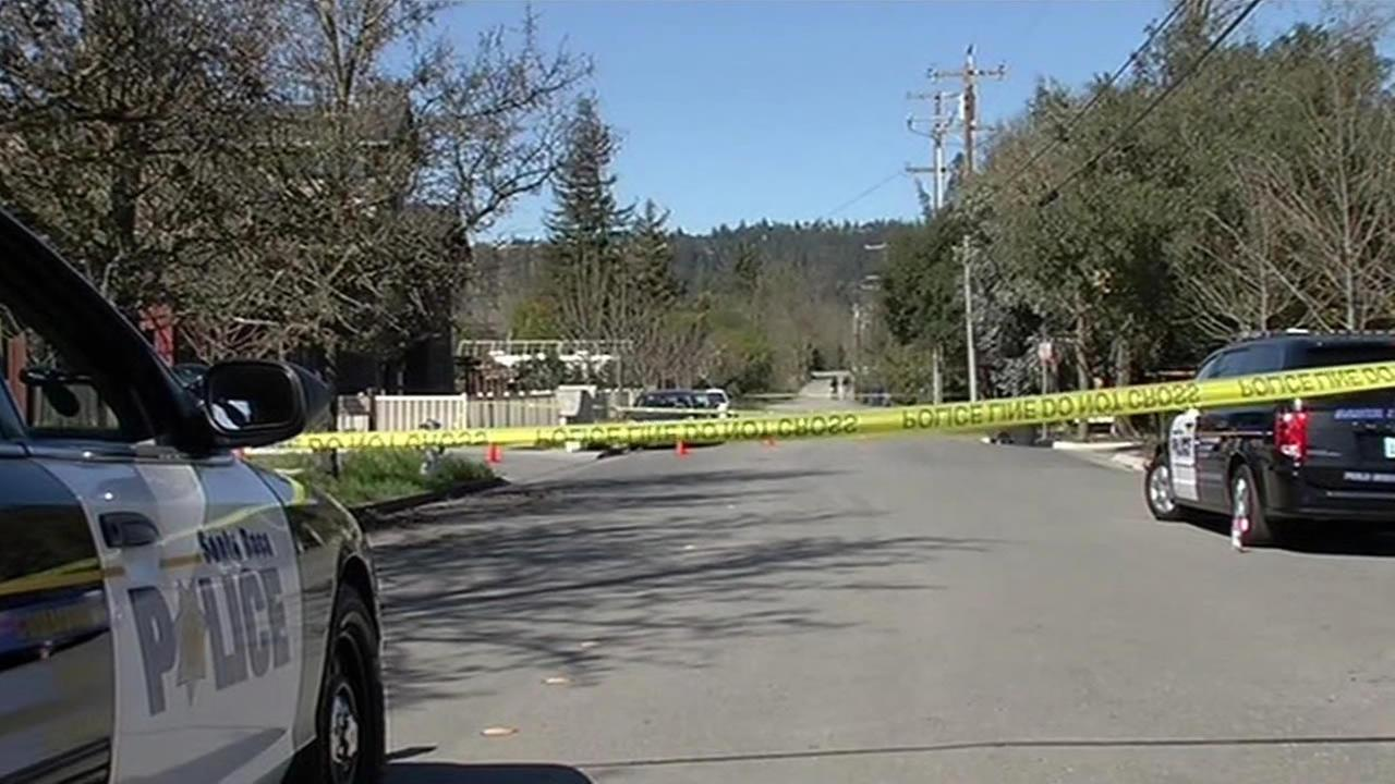 A home invasion suspect is dead and another was critically injured after a homeowner exchanged gunfire with them in Santa Rosa Monday morning