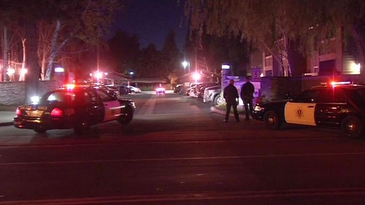 San Jose police search apartment complex