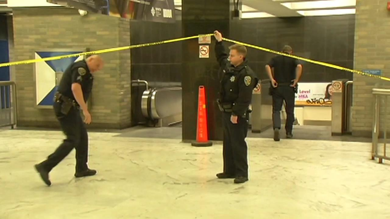 San Francisco police investigating after suspect allegedly pushed man in front of tracks at Civic Center station