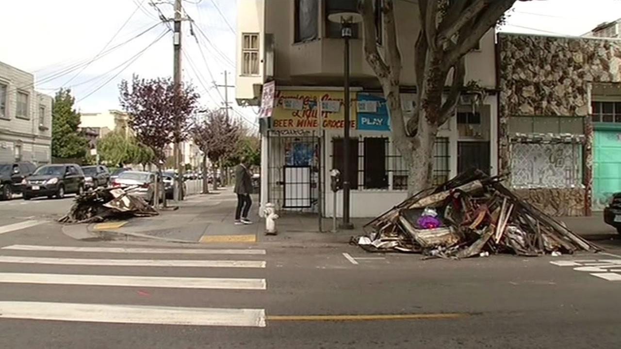Neighbors are describing firefighters efforts as truly heroic after the rescued a family of five that was trapped in their apartment building during a raging fire in San Franciscos Mission District.