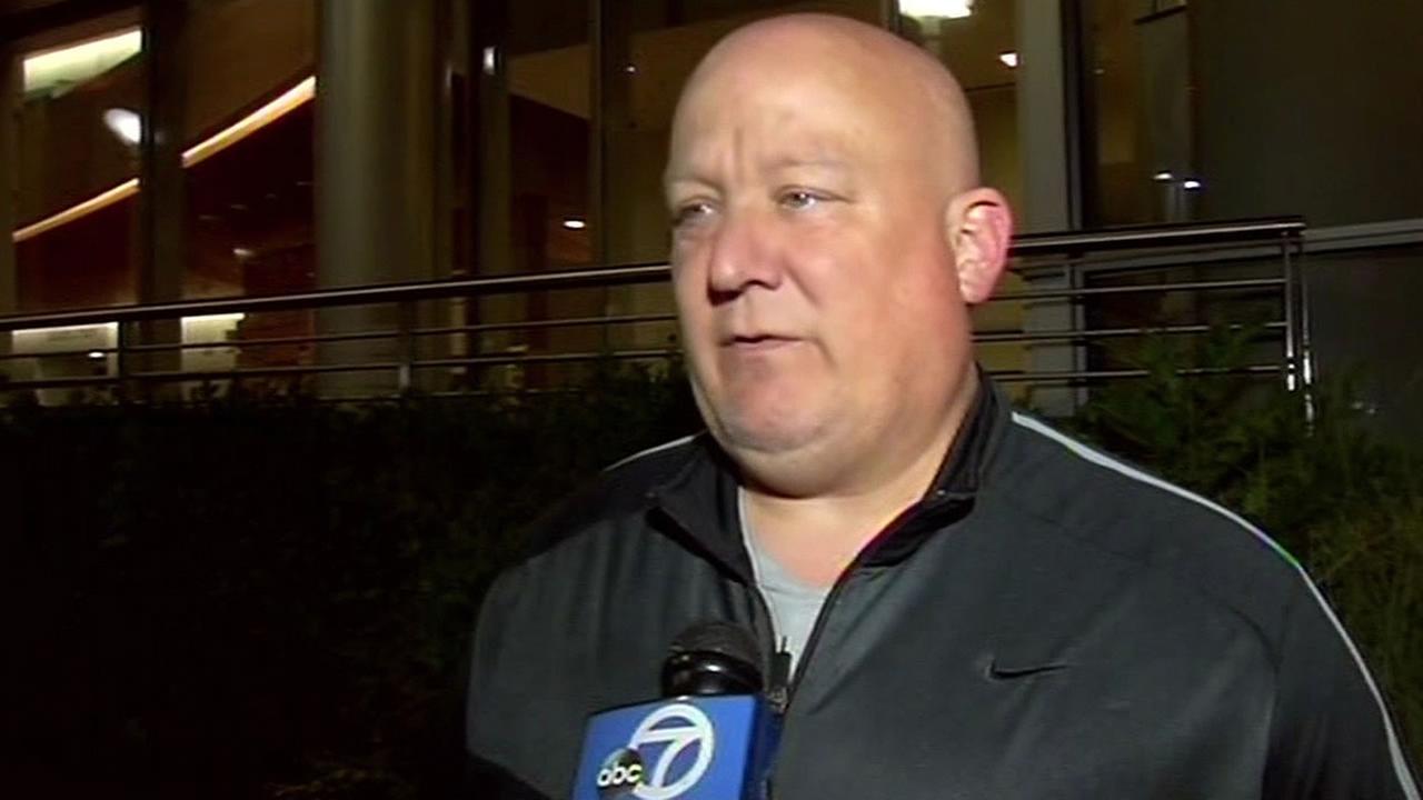 Christian Rasners father, Greg Rasner, talks to ABC7 News