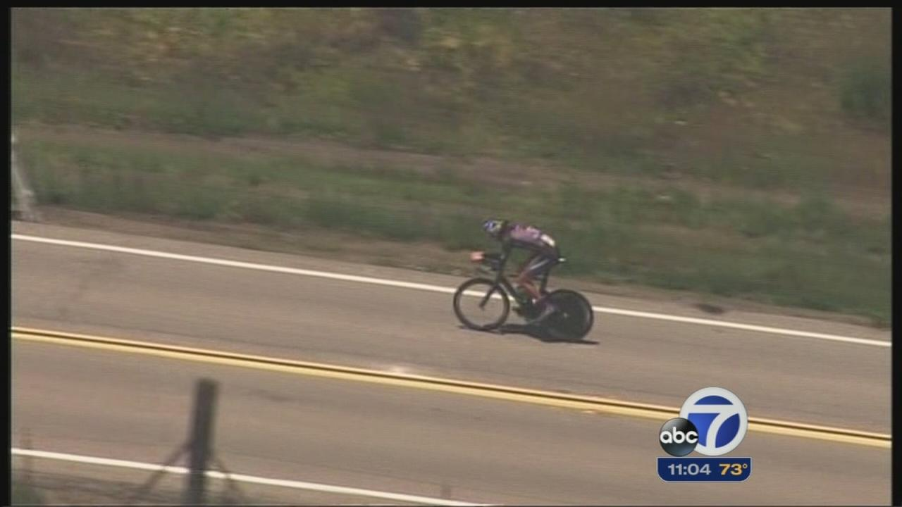 Amgen Tour Stage 3 takes off from San Jose