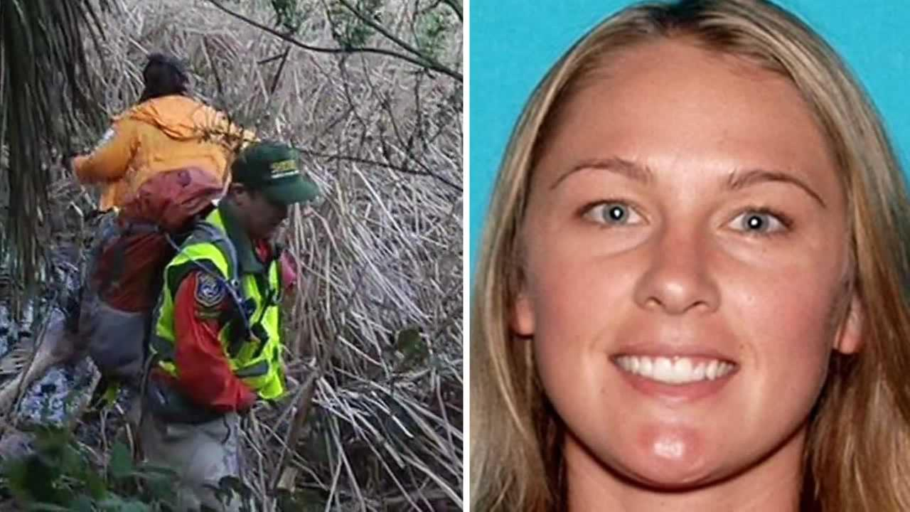 Police are using search dogs to look for Denise Huskins who was reported kidnapped from her home on Mare Island on Monday.