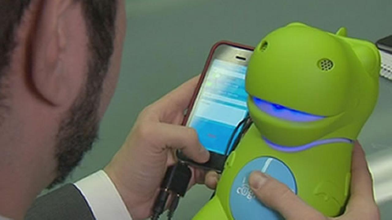 Dinosaur smart toy.