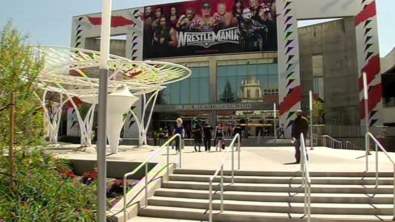 Levis Stadium Wrestlemania
