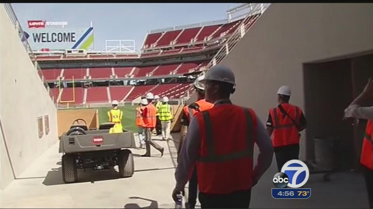 Levis Stadium events calendar filling fast