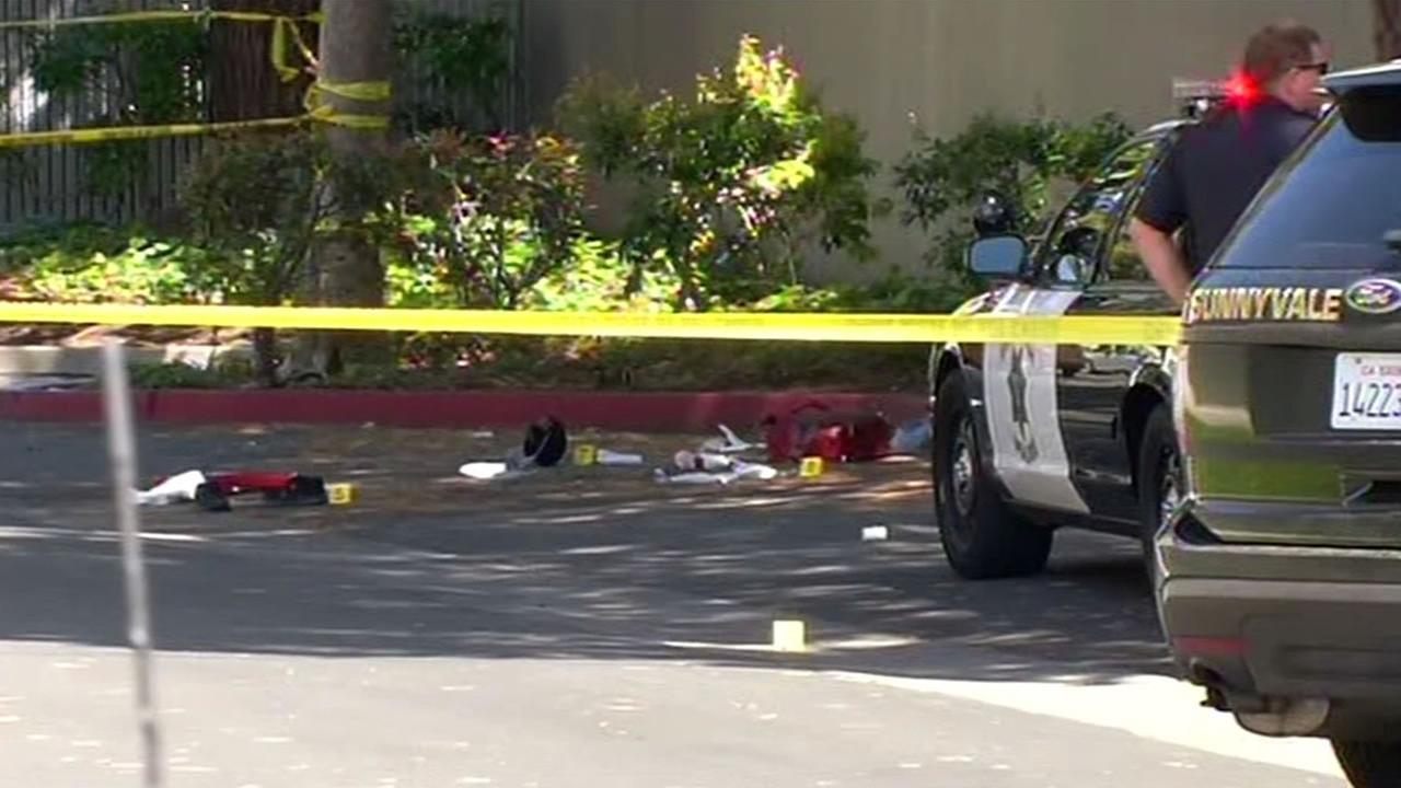 Armed robbery suspect killed in an officer-involved shooting in Sunnyvale.