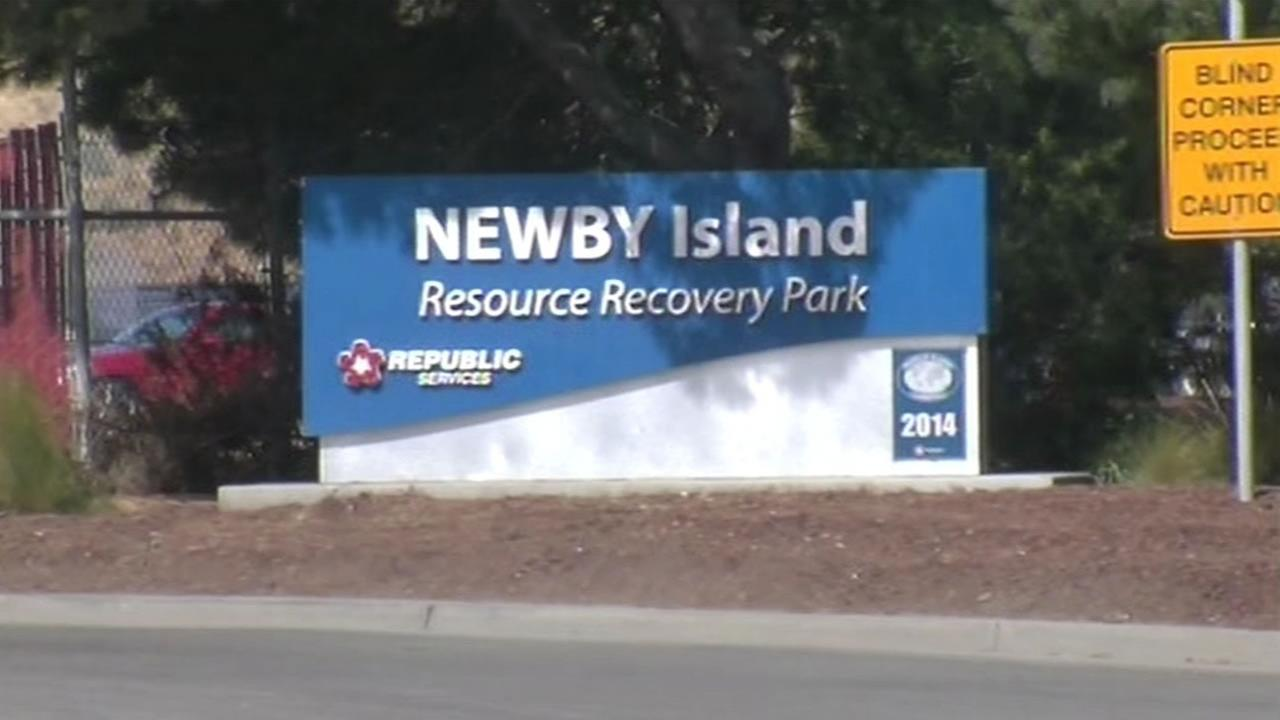 Newby Island Resource Recovery Park landfill in Milpitas.
