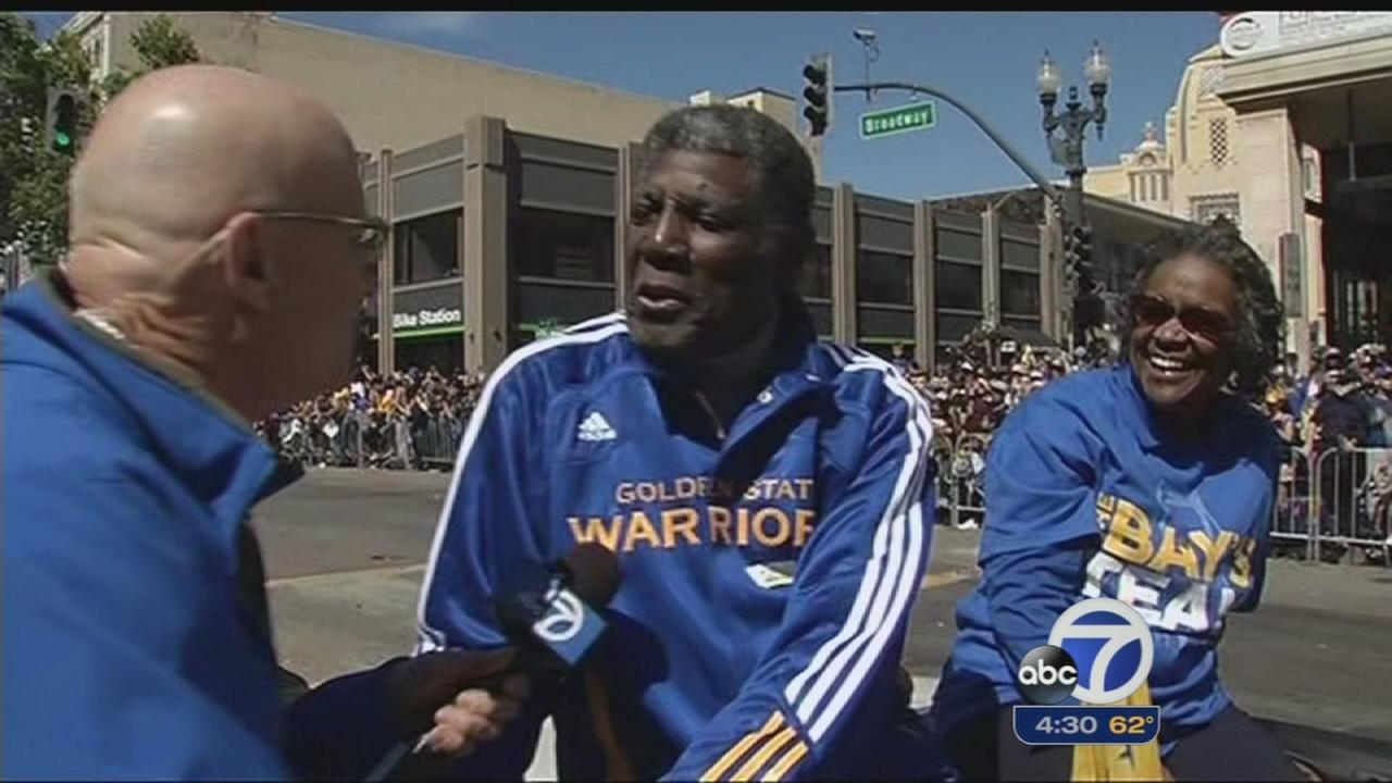 Oakland comes alive with excitement for Warriors