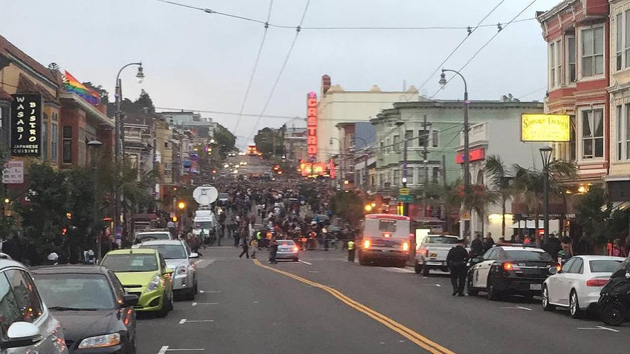 Pride celebrations in the Castro