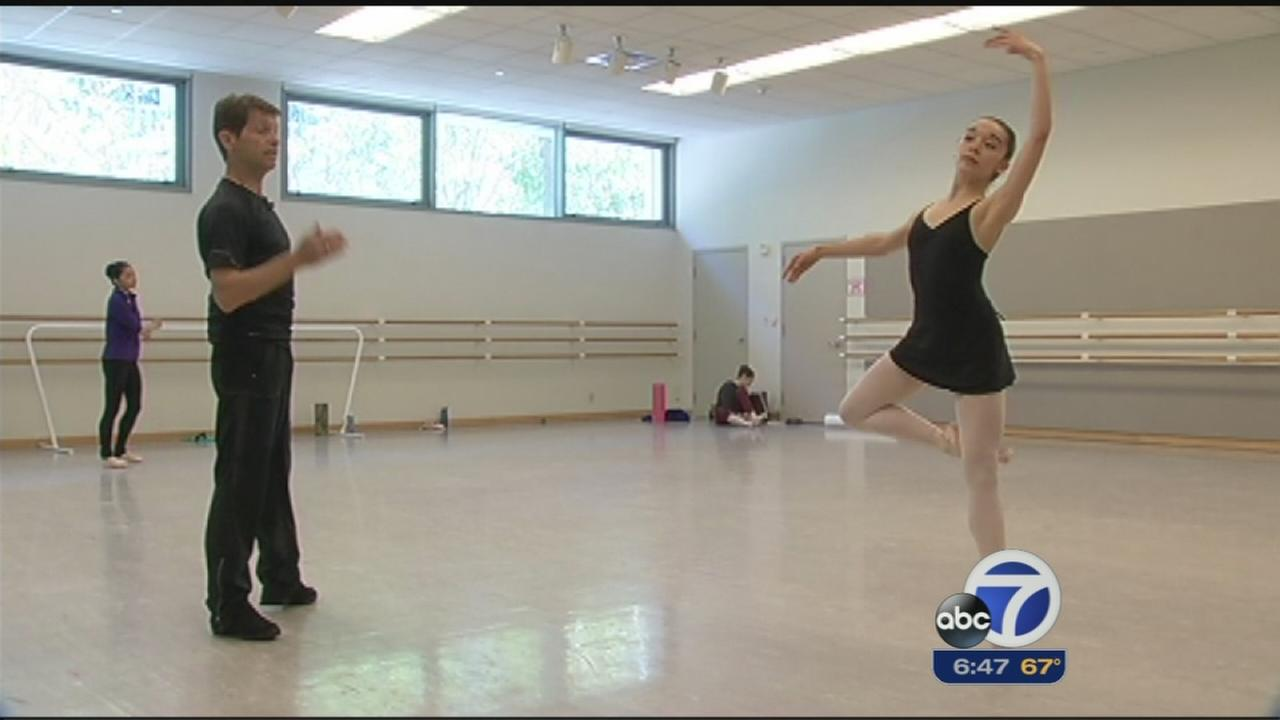 Students at SF Ballet School gear up for showcase performance