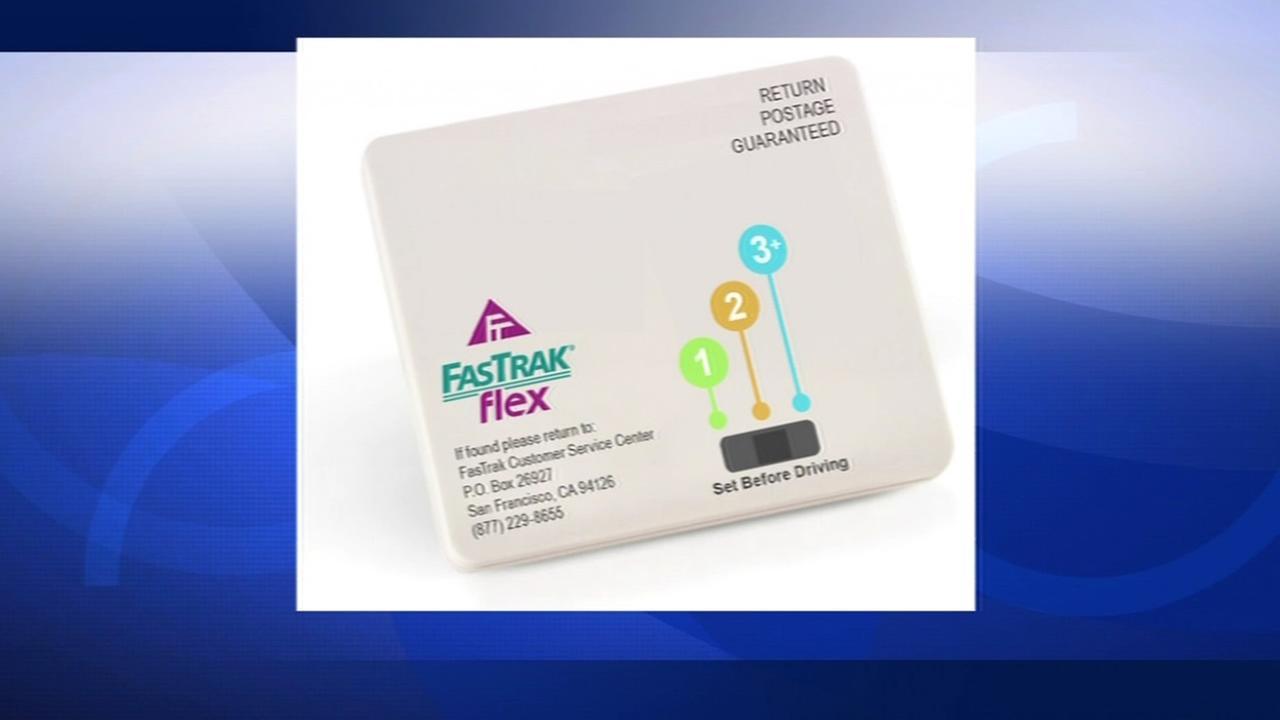 The new FasTrak Flex debuts in July 2015.