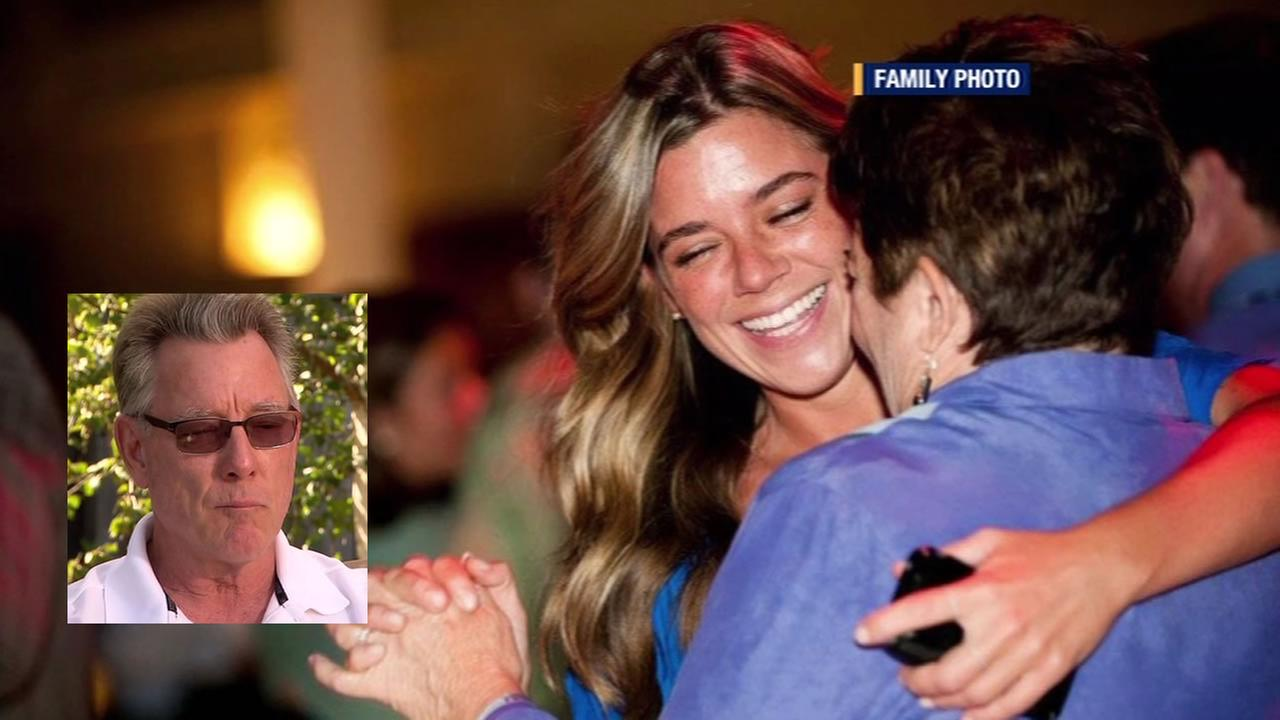 Jim Steinle, whose daughter Kate was shot on on Pier 14 in San Francisco, says he and his family want to focus on Kates life and legacy.