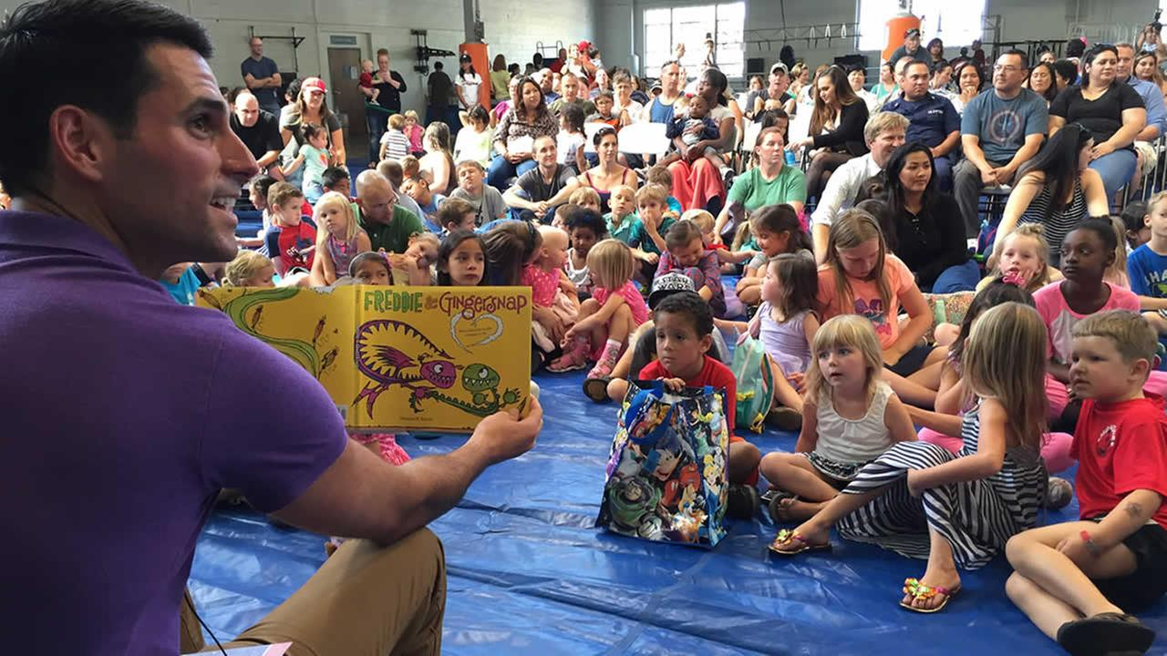 Blue Star Families Books on Bases event