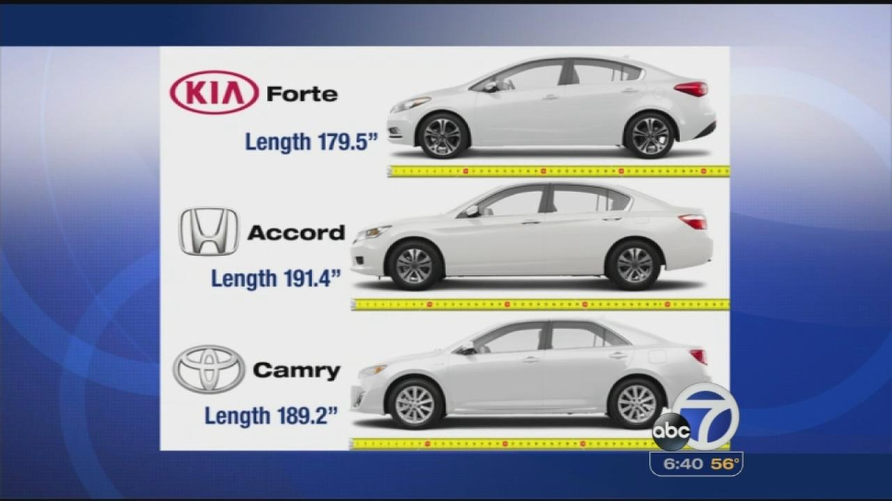 Car renters beware: Full size cars may be small