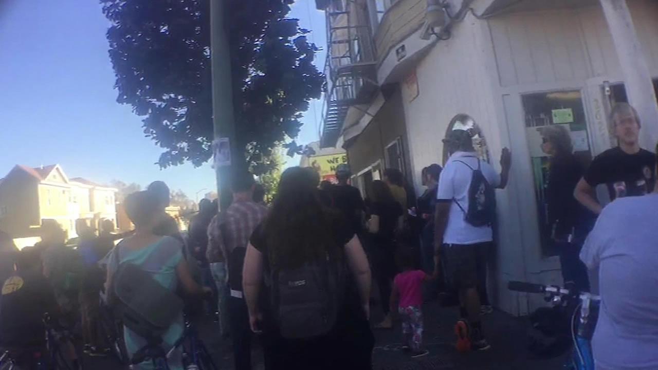 27th Street vigil