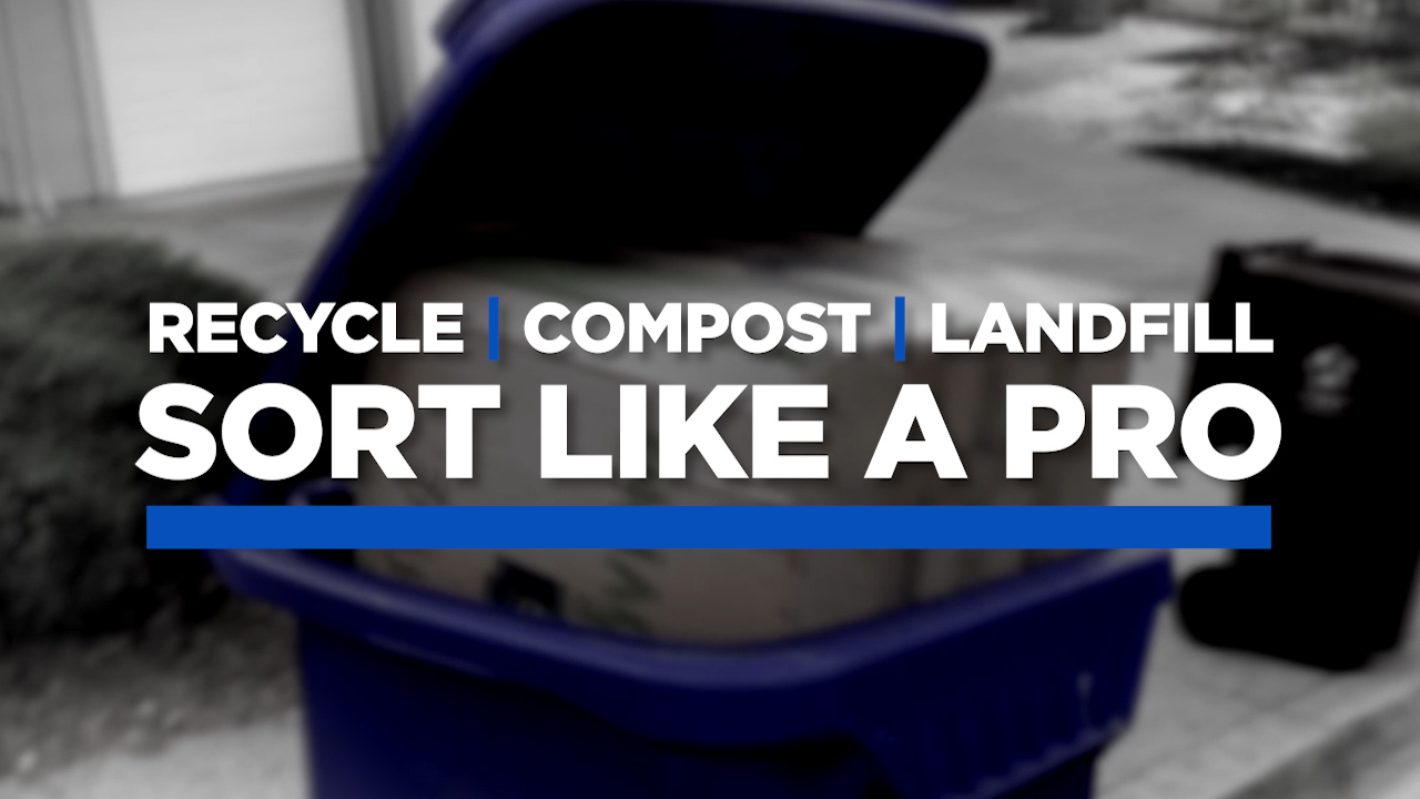 Recycle, Compost, Landfill - Sort your recycling like a pro