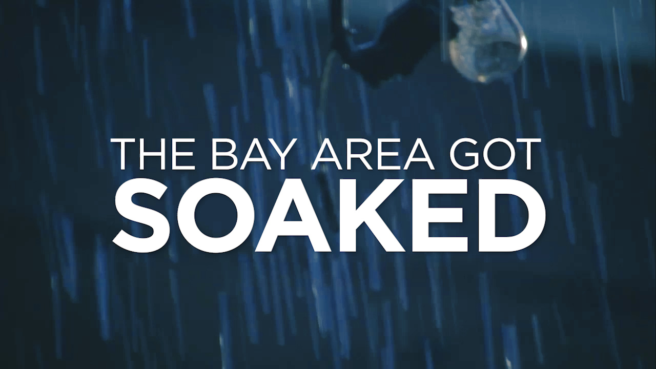 Bay Area soaked by heavy rain