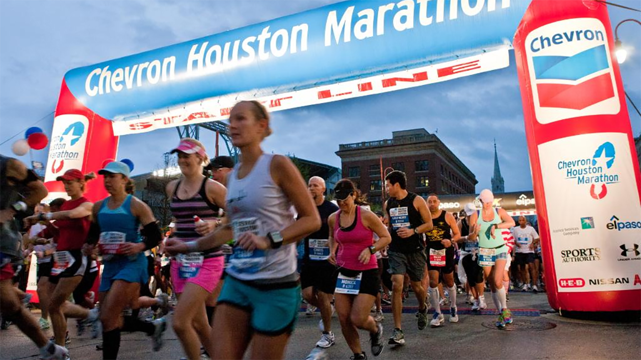 Chevron Houston Marathon and Aramco Half Marathon on social media
