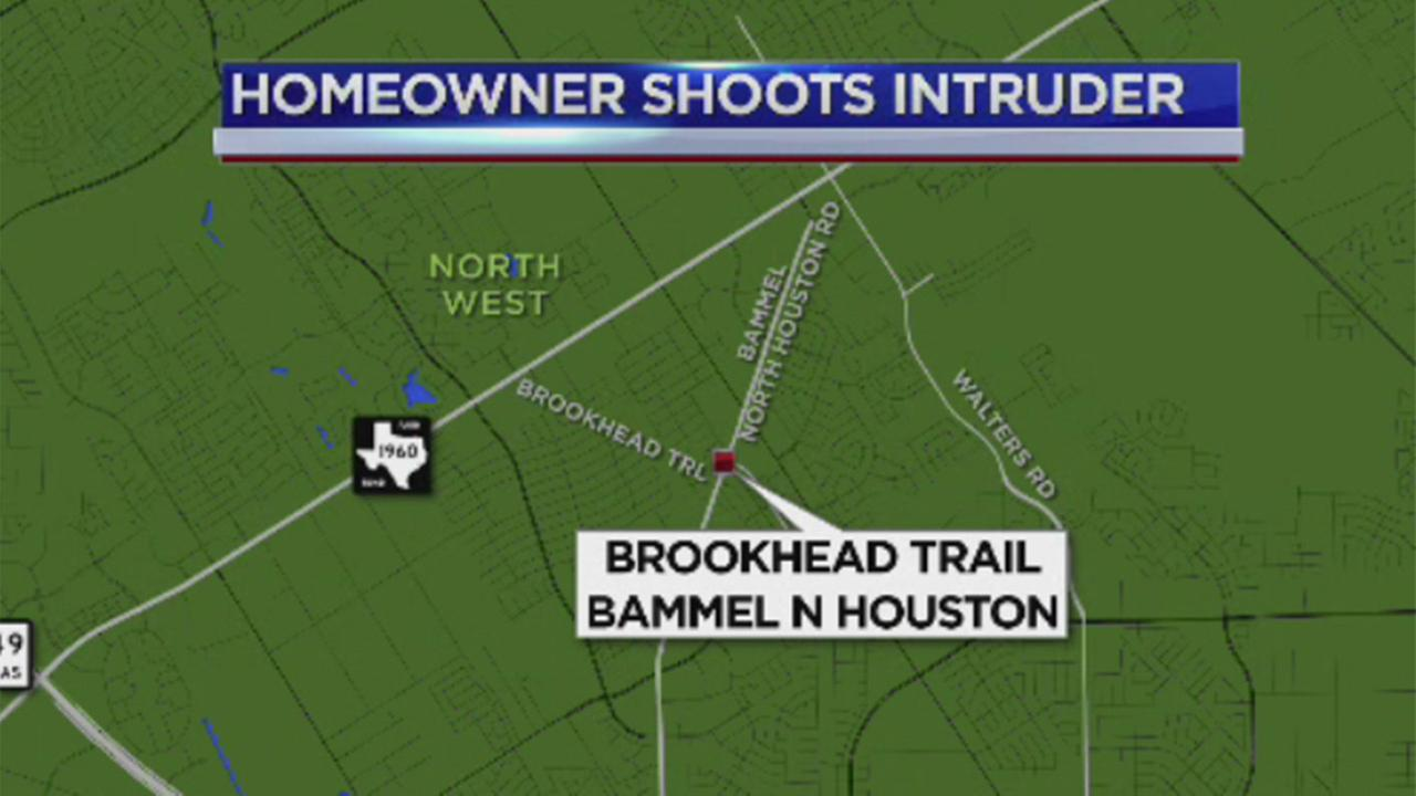 Homeowner fatally shoots suspect, reportedly during home invasion attempt in NW Harris Co.