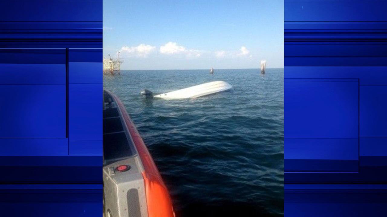 Boat capsized