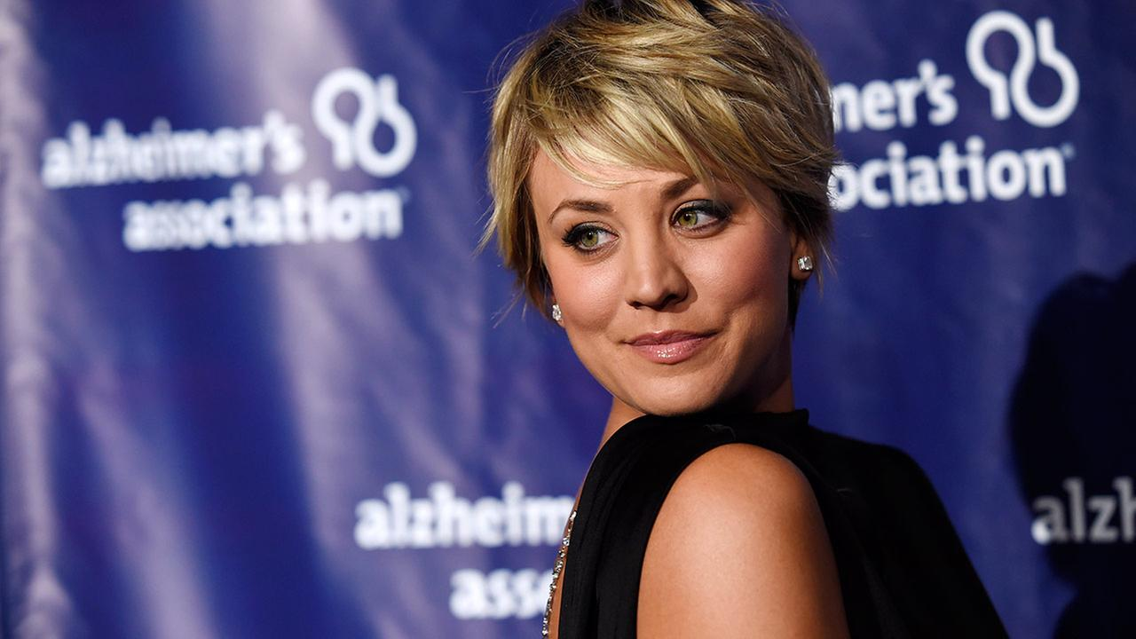 Actress Kaley Cuoco turns back for photographers at the 23rd Annual A Night at Sardis event to benefit the Alzheimers Association, at the Beverly Hilton Hotel.